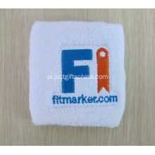 Custom Haftowane Logo Sweat Wristbands